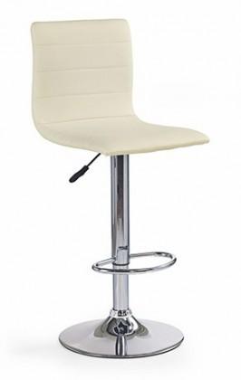 Barová stolička H21 - Barová židle, krém
