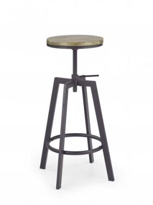 Barová stolička H64 - Barová stolička (hnedá)