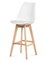 Barová stolička Lina (biela)