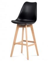 Barová stolička Lina (čierna) - ROZBALENÉ