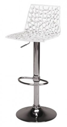 Barová stolička Spider (bílá)