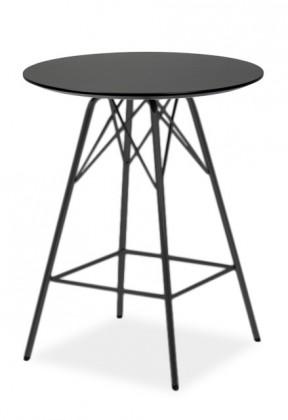 Barový stôl LOLA 9306-024+PORGY BAR 9340-824 (čierna)