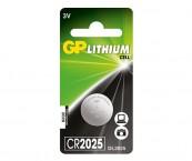 Batéria GP líthiová gombíková CR2025