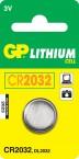 Batéria GP líthiová gombíková CR2032
