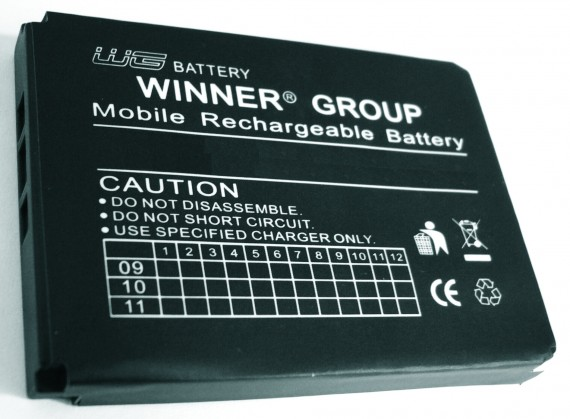 Batéria LG KF300 Li-Pol 850mAh
