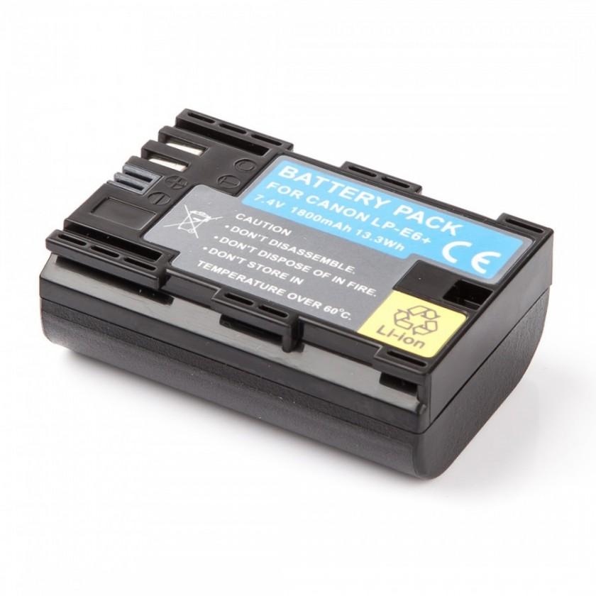 Batérie do fotoaparátov Batéria MadMan Canon LP-E6