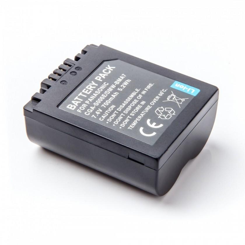 Batérie do fotoaparátov Batéria MadMan Panasonic CGA-S006