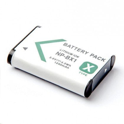 Batérie do fotoaparátov Batéria MadMan SONY HDR-AS15