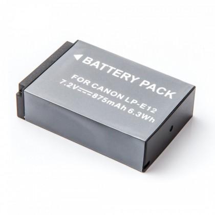 Batérie do fotoaparátov MadMan Baterie pro Canon LP-E12