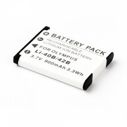 Batérie do fotoaparátov MadMan Baterie pro Olympus LI-40B