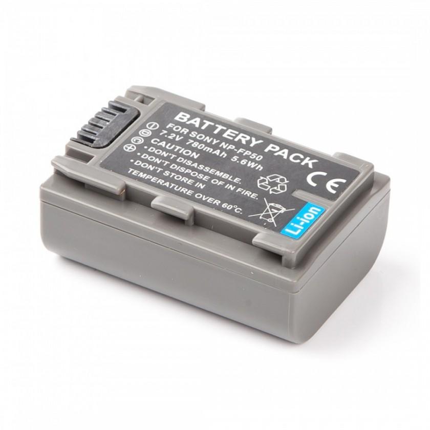 Batérie do fotoaparátov MadMan Baterie pro Sony NP-FP50