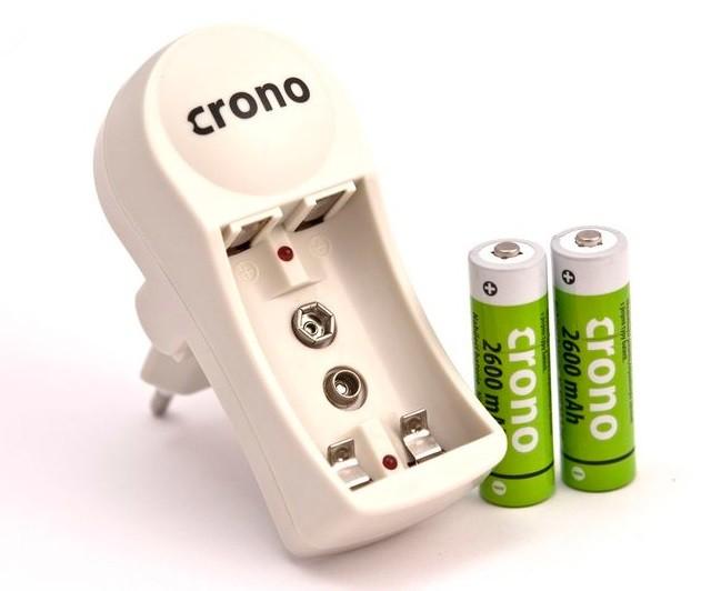 Batérie do fotoaparátov Nabíječka+baterie AA 2600 mAh POUŽITÝ, NEOPOTREBOVANÝ TOVAR
