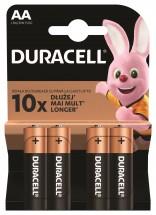 Batérie Duracell Basic, AA, 4ks