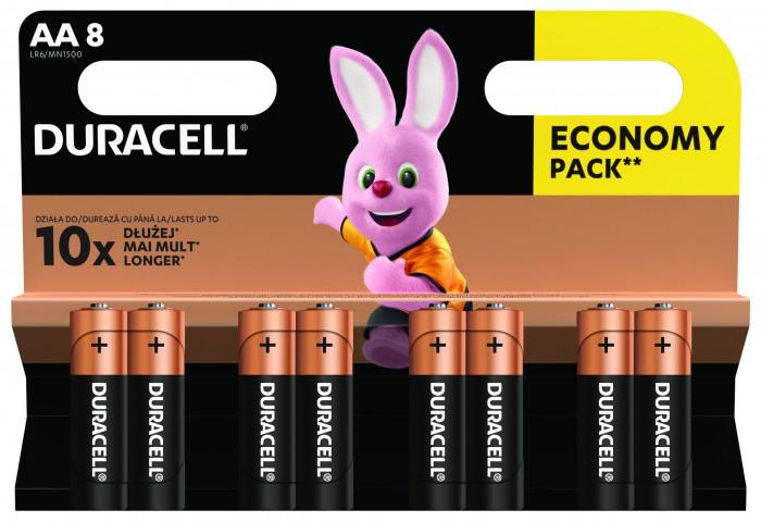 Batérie DURACELL Basic,AA,8 ks