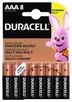 Batérie DURACELL Basic,AAA,8 ks