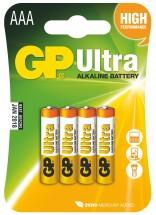 Batérie GP AAA Ultra Plus 4ks