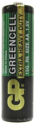 Baterie GP Greencell 15G R6 BLISTR