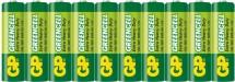 Batérie GP Greencell AAA 10ks