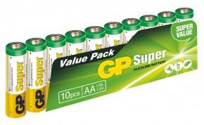 Batérie GP Super Alkaline AA 10ks