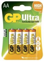 Batérie GP Ultra Alkaline AA 4ks