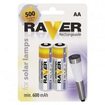 Batérie Raver, AA, 600mAh, 2 ks