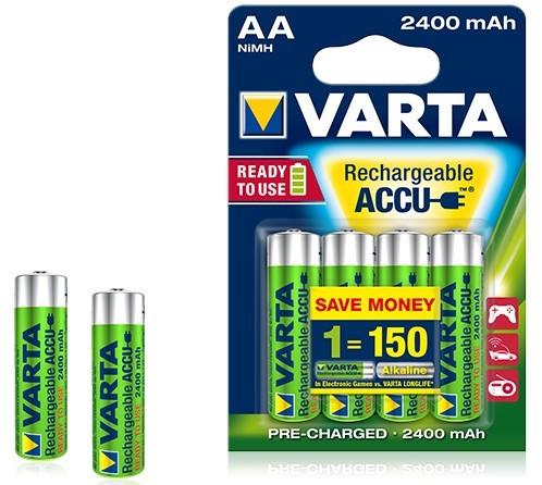 Batérie VARTA Accu 4xAA 2400