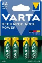 Batérie Varta Accu, AA, 2600mAh, 4ks