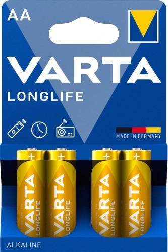 Batérie Varta Longlife, AA, 4ks