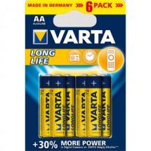 Batérie Varta Longlife Extra AA 6ks