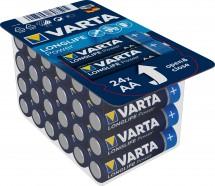 Batérie Varta Longlife Power, AA, 24ks