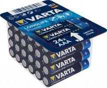 Batérie Varta Longlife Power, AAA, 24ks