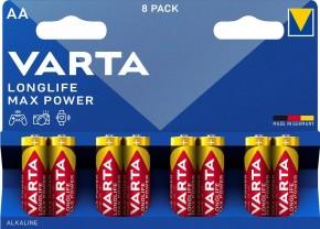 Batérie Varta Max Tech, AA, 8ks
