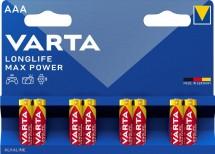 Batérie Varta Max Tech, AAA, 8ks