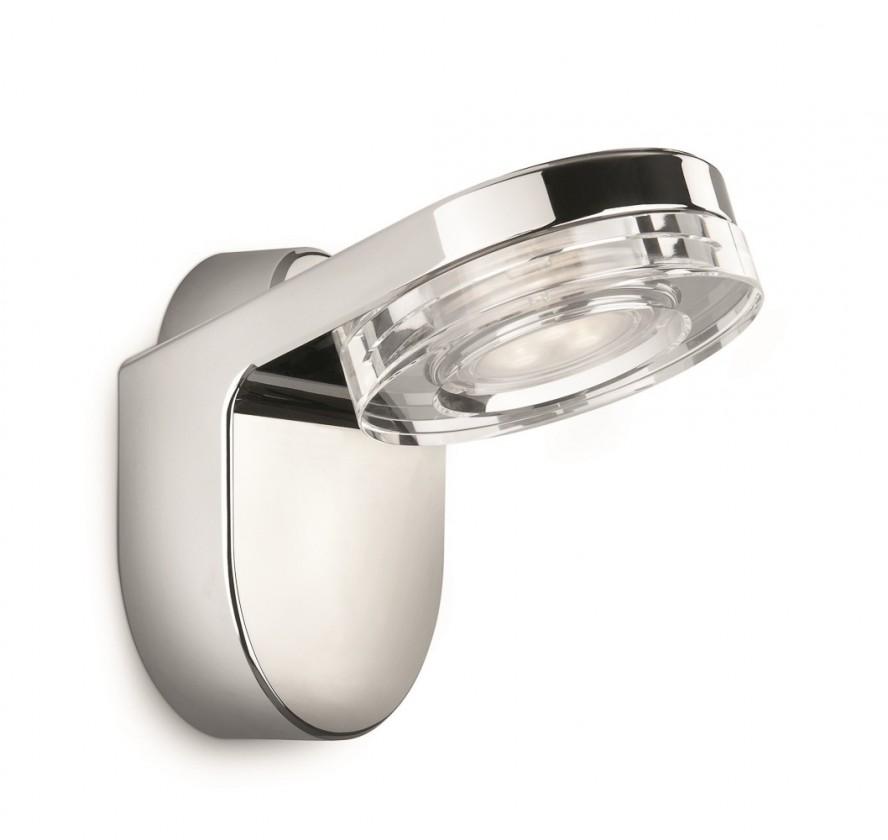 Bath - Kúpeľňové osvetlenie LED, 10,1cm (lesklý chrom)