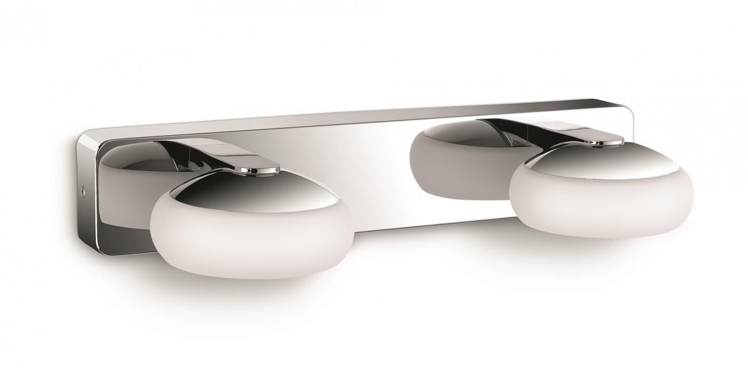 Bath - Kúpeľňové osvetlenie LED, 35,2cm (lesklý chrom)