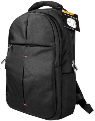 "Batoh CANYON klasický batoh na 15.6 ""notebook, čierny"