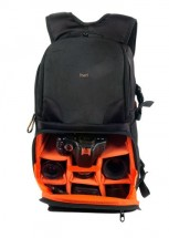 Batoh na digitálnu zrkadlovku TNB BPDCXSHOT3 černá/oranžová