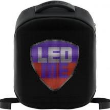 Batoh Prestigio LEDme 22L, s LED panelom, čierny