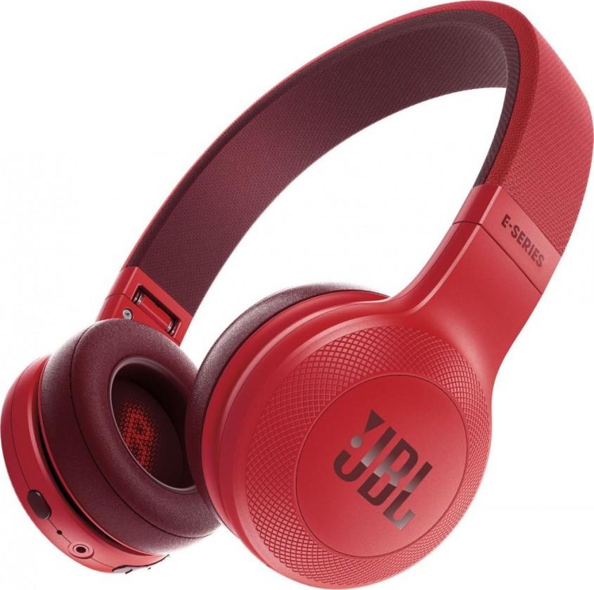 Bazár audio Bazdrôtové slúchadlá JBL E45BT červená ROZBALENÉ