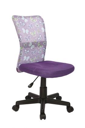 Bazár detské izby Dingo - detská stolička (fialová)