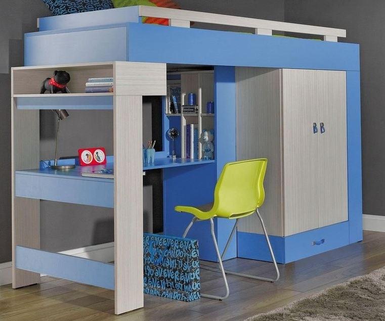 Bazár detské izby Komi KM 15 (Modrá)