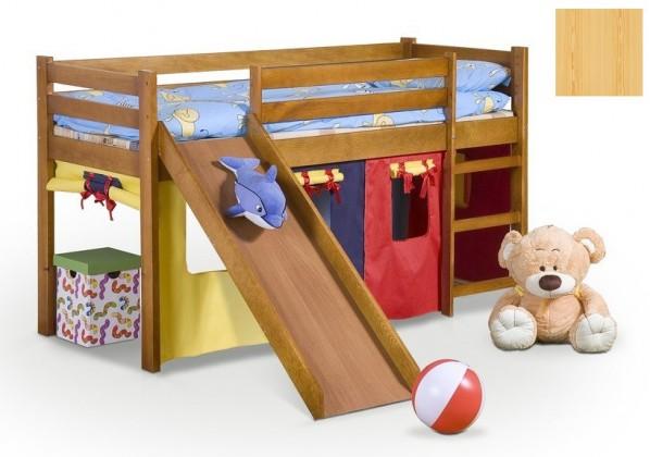 Bazár detské izby Neo Plus - Detská posteľ (borovica)