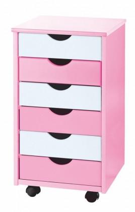 Bazár detské izby Pierre (ružová/biela)