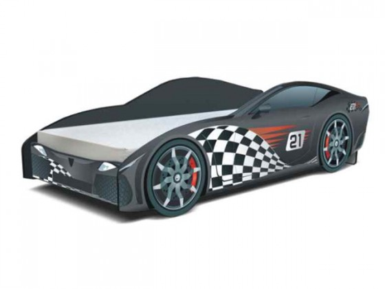 Bazár detské izby Seria Cars - F1 carbon(F1 čierná)