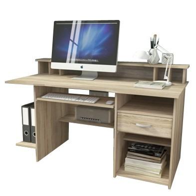 Bazár kancelárie P4 - Kancelársky stôl (dub sonoma)