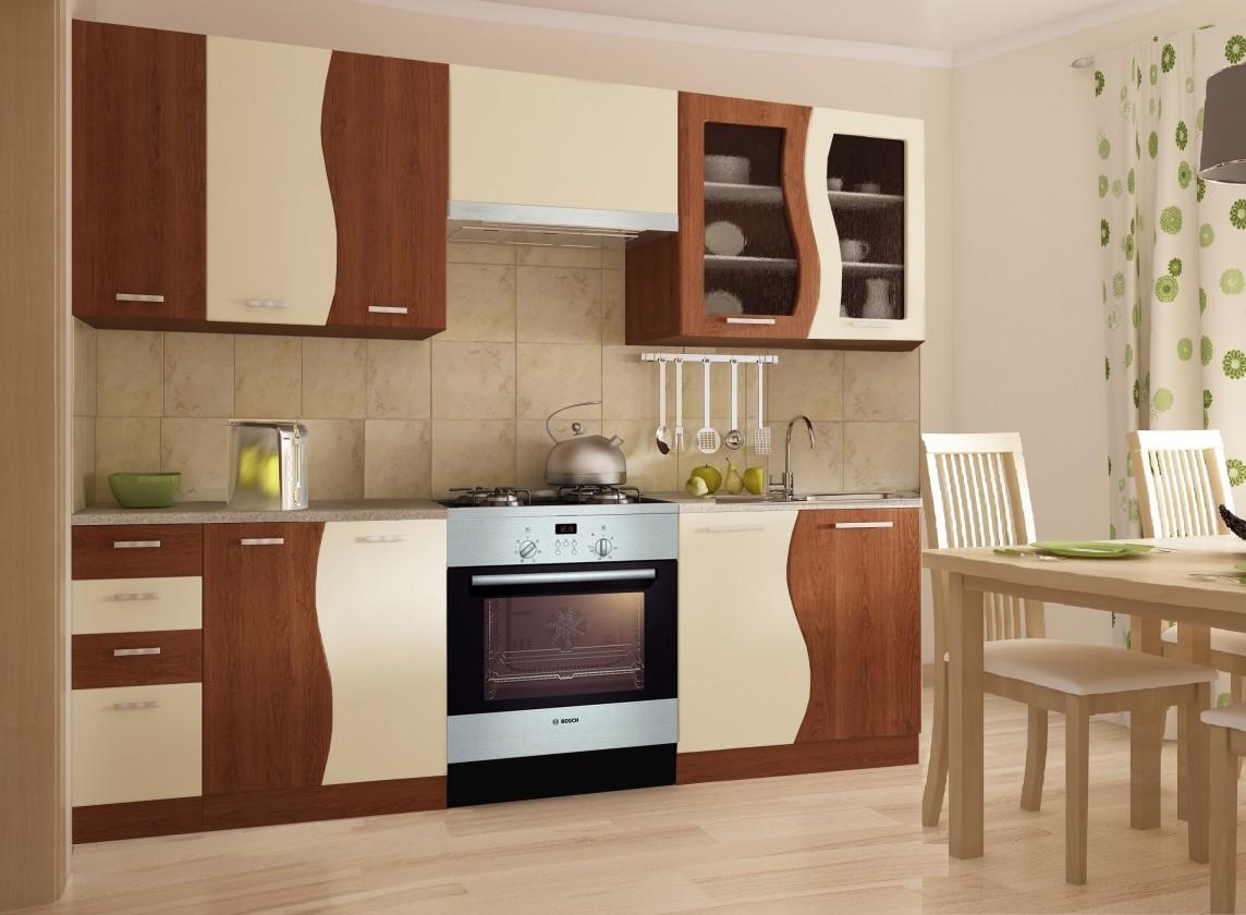 Bazár kuchyne, jedál Dunaj 240x180 cm (hruška/vanilka)