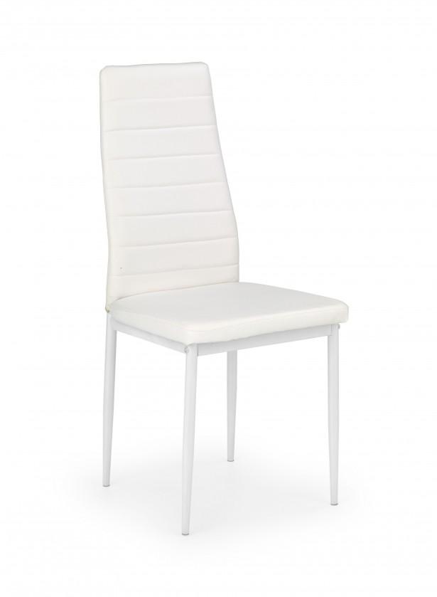 Bazár kuchyne, jedál K70 - Jedálenská stolička (bielá)