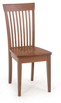 Bazár kuchyne, jedál Rutali - Jedálenská stolička (kaučukovník, morenie čerešňa)