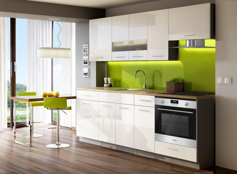 Bazár kuchyne, jedál Singiel luxe blanco 240(biela)
