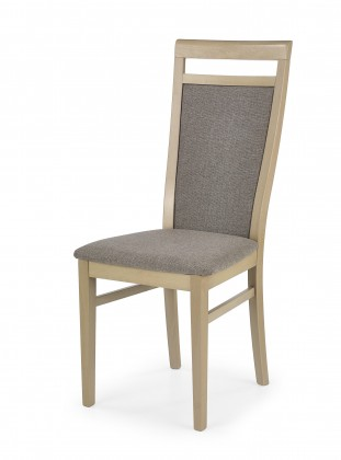 Bazár kuchyne, jedálne Damian - Jedálenská stolička (svetlo hnedá, dub sonoma)